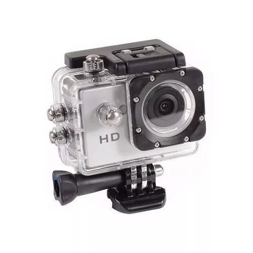 Go pro câmera 1080p esportes radicais portátil action ful