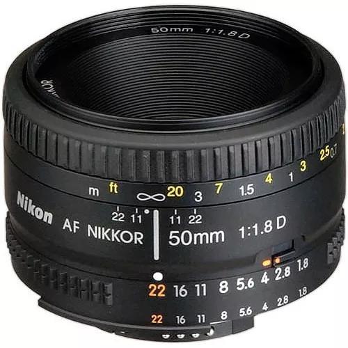 Lente nikon 50mm af f/1.8d fx garantia 1 ano envio imediato