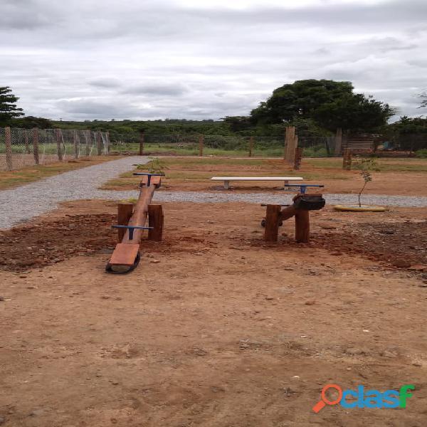 Playground de eucalipto tratado