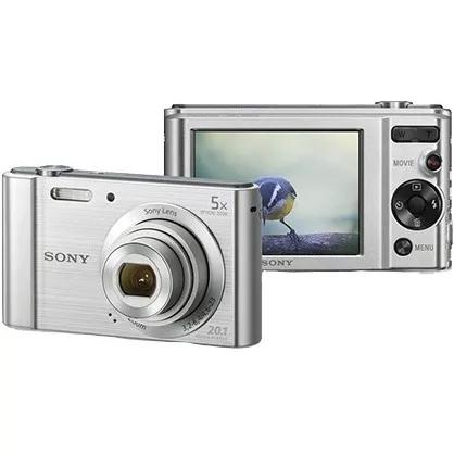 2 maquina digital sony w800 5x zoom cyber shot 20.1 nf