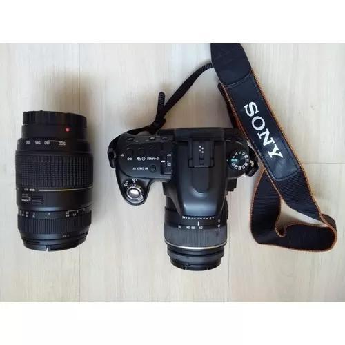Camera sony linha alpha dslr-a500