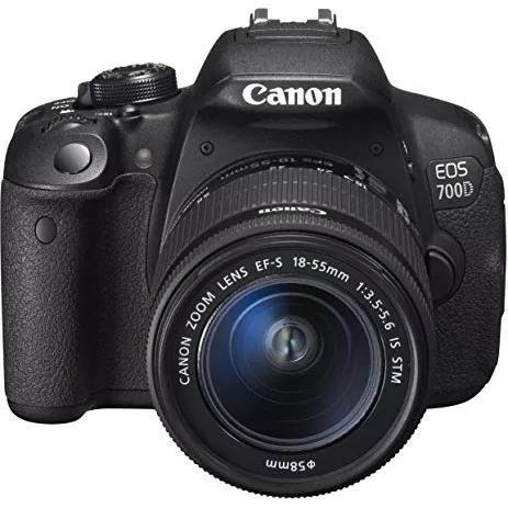 Canon eos t5i + obj 18-55mm canon 700d t5i 12x s