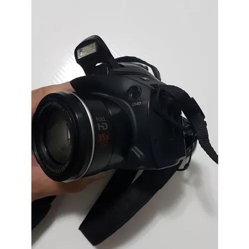 Câmera canon power shot sx40 hs