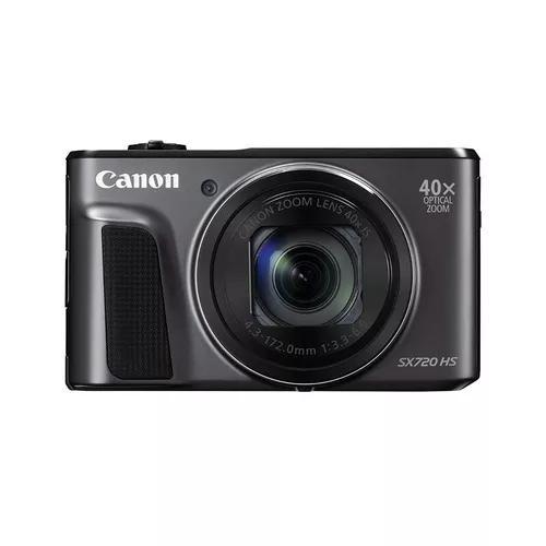 Câmera canon powershot sx720 hs zoom 40x wi-fi nfc s