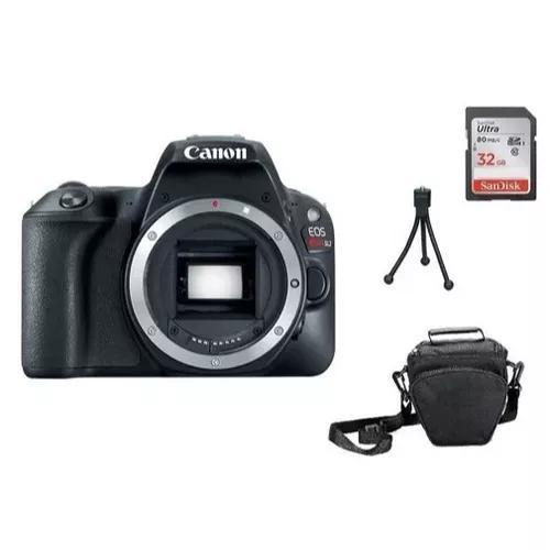 Câmera canon sl2+sd 32gb+bolsa+tripe com nf e garantia