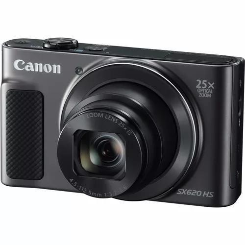 Câmera canon sx620hs wifi/ 20.2 megapixel/ zoom 25x + 64gb
