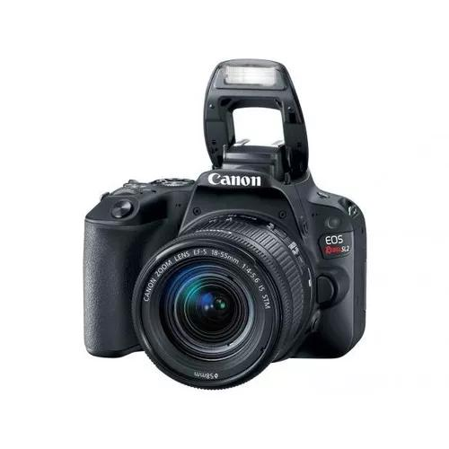 Câmera digital canon dslr eos rebel sl2 24,2mp - s
