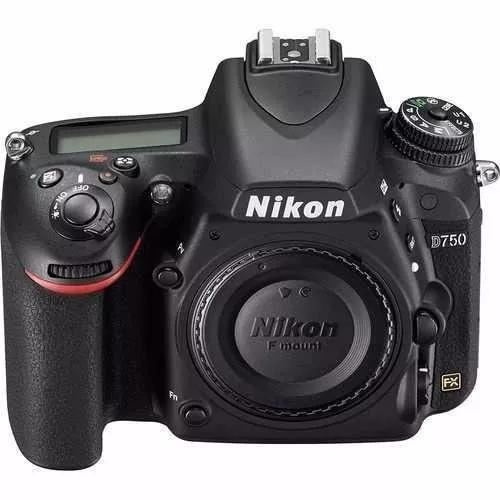 Câmera digital nikon d750 body 24.0mp 3.0