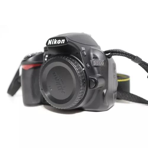 Câmera fotográfica nikon d3100 usada - somente corpo.