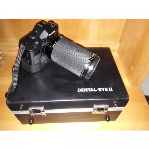 Câmera fotográfica yashica dental eye ii + objetiva +
