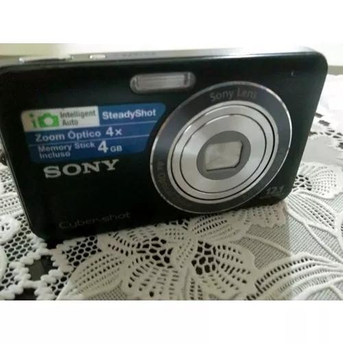 Câmera sony cyber shot 12.1 - 4 gigas dsc-w310