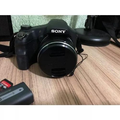 Câmera sony cybershot dsc-hx200v cartão de m