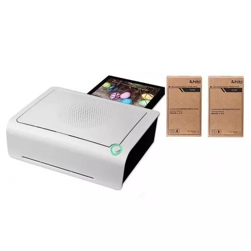 Impressora Fotográfica Com Wifi - Hiti P310w + Kit 2 Papeis