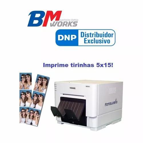 Impressora fotográfica dnp rx1 (bmworks) nova