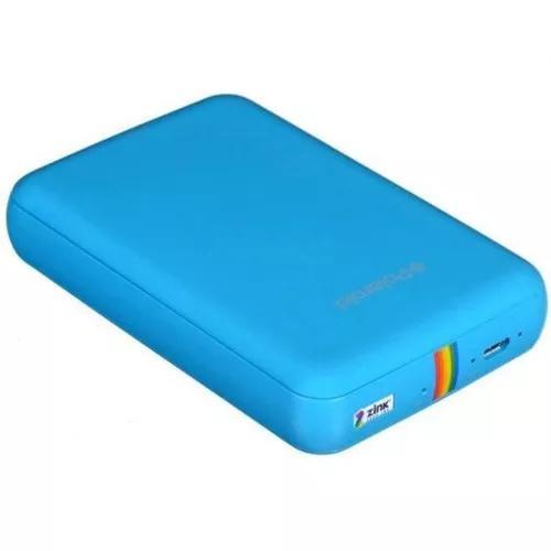 Impressora fotográfica portátil polaroid zip polmp01bl