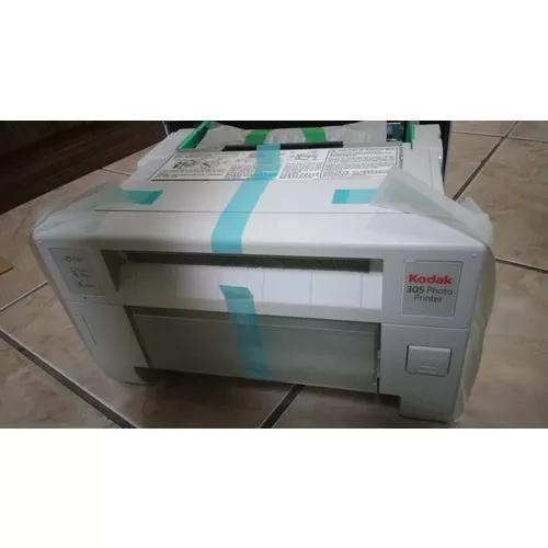 Impressora kodak 305 fotográfica térmica - na caixa zerada