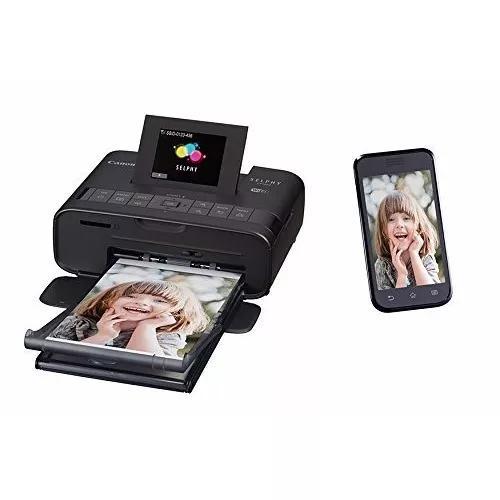 Impressora portatil fotográfica canon selphy cp1200 preta