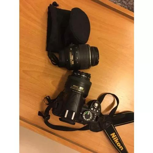 Nikon d3100 duas lentes (câmera fotografica n canon)