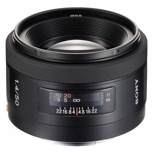 Sony lente af 50mm f1.4 manual p/ desmontag