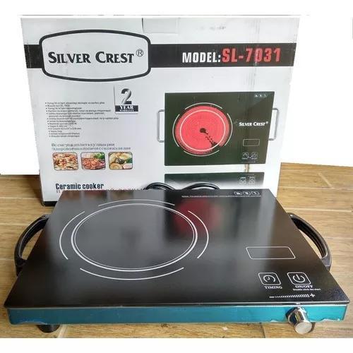 Cooktop eletrico cerâmico 220v portatil 1boca potência