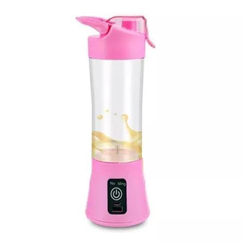Juice cup mini liquidificador portátil recarregável rosa