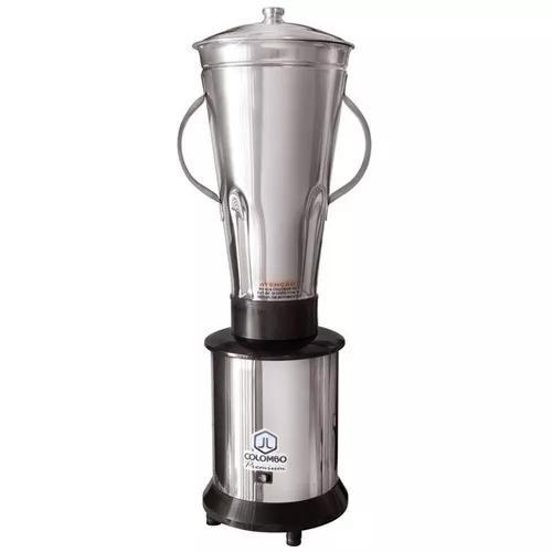 Liquidificador industrial inox 3,5 litros baixa rotação jl