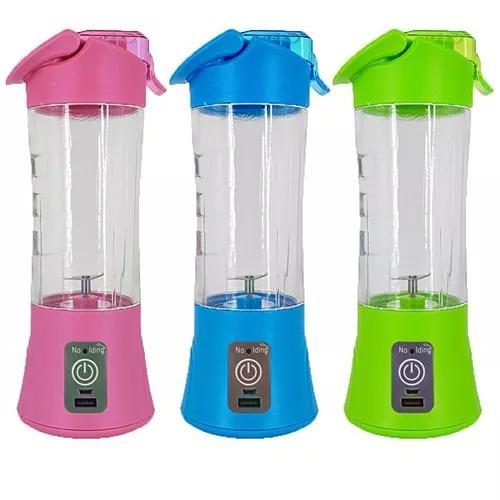 Mini liquidificador copo shake juice sport acad