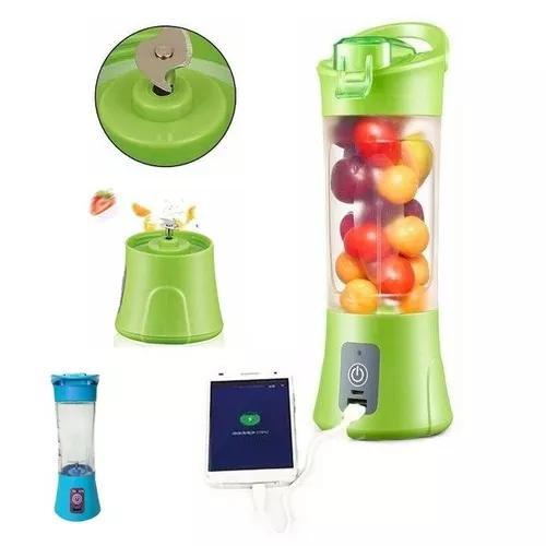 Mini liquidificador portatil recarregavel juice cup + usb