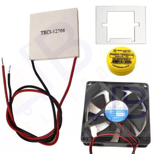 Placa peltier ventilador purificador água electrolux pa30g