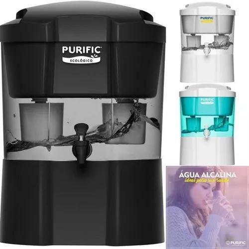 Purficador purific ecológico c/ torneira frete grátis