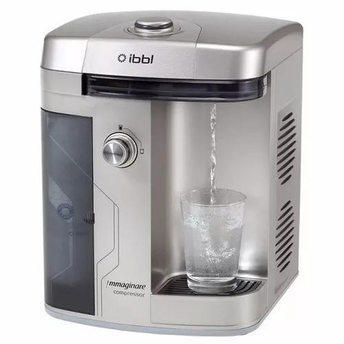 Purificador de água ibbl immaginare inox compresso 220v