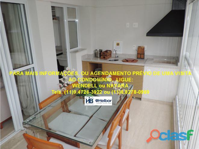 Apartamento pronto 95 m 3 dorms 2 vagas demarcadas Family Garden Chácara Inglesa SBC