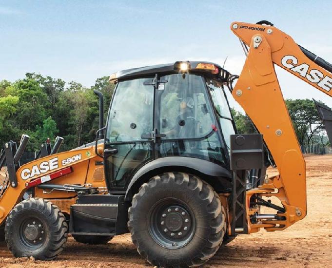 Retro escavadeira 4x4 580 n 2016
