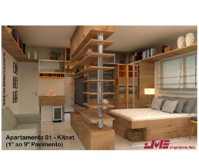 Apartamento na boa vista 23m² a 46m², 1 e 2 quartos, 1
