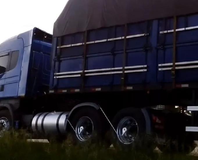 Scania r 440 highline carreta ls graneleiro