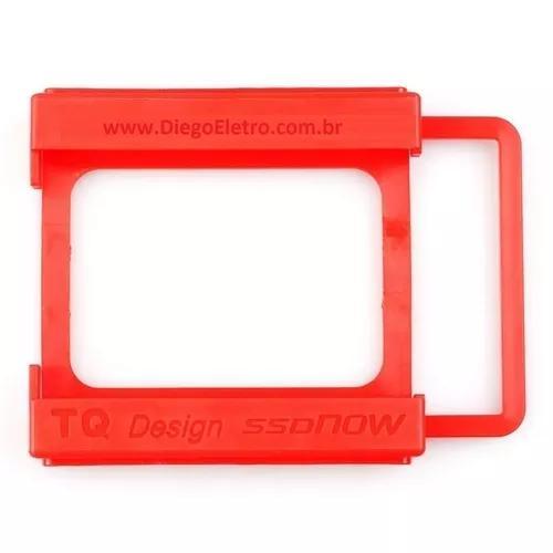 Adaptador / suporte hdd ssd 2,5 para 3,5 notebook para pc