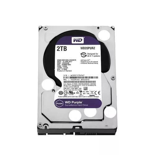 Hd 2tb purple 2 tera western digital wd cftv dvr wd20purz