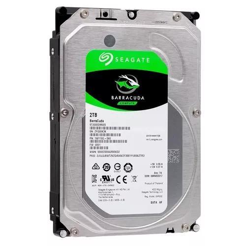 Hd 2tb seagate barracuda interno desktop dvr st2000dm005