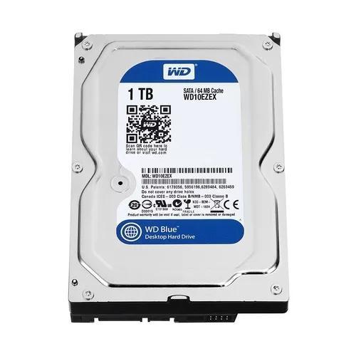 Hd 3.5 desktop wd blue 1tb sata 3 novo com garantia