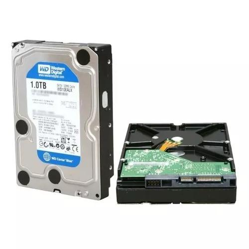 Hd interno western digital blue 1tb sata 3 7200rpm 64mb