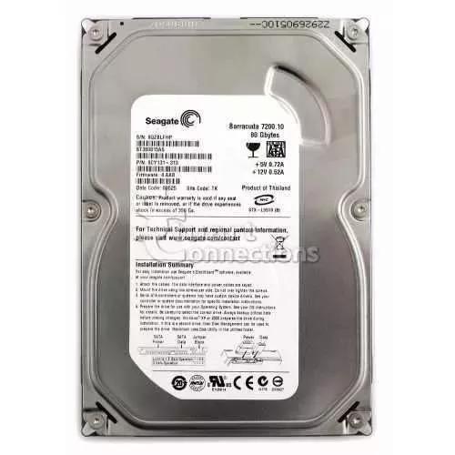 Hd sata 80 gb com garantia para desktop promoção