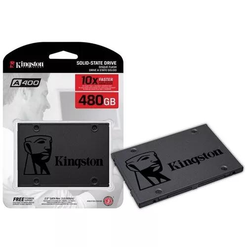 Hd ssd kingston 480gb ssdnow a400 sata 3 6gb/s 442