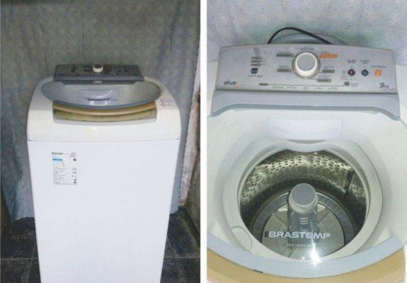 Máquina de lavar brastemp active 9 kg