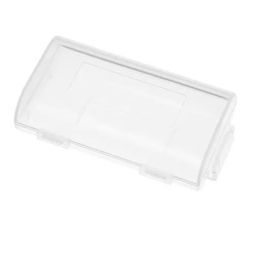 1 pc transparente caixa armazenamento bateria 18650 caso alt