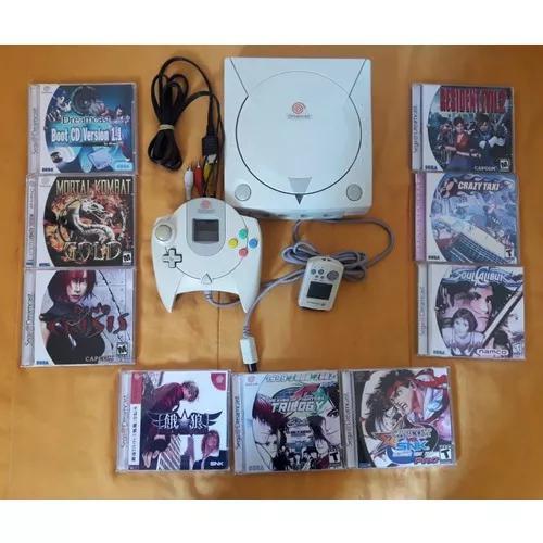 Dreamcast super conservado+9 jogos+m