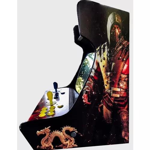 Fliperama bartop 11 mil jogos arcade retro