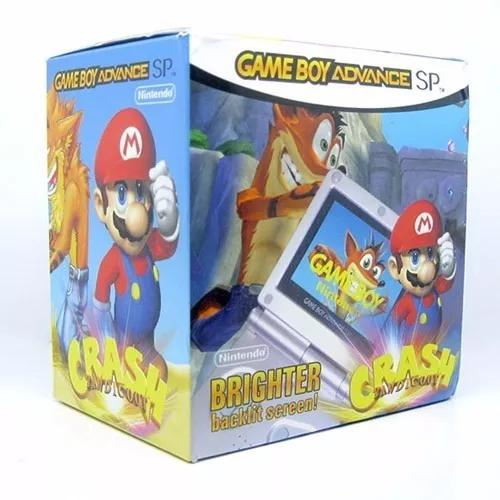 Gba sp brighter ags 101 9999 jogos na m