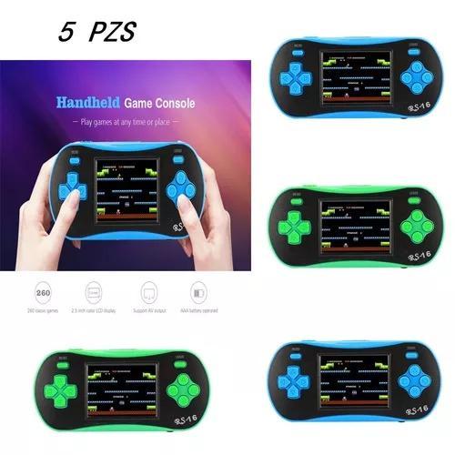 Infância clássico 2,5 polegadas com 260 jogo handheld