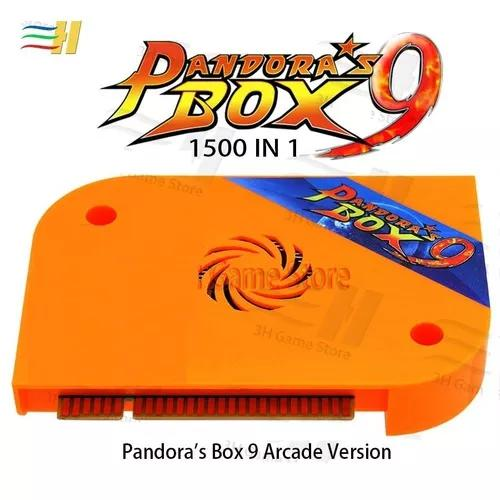 Pandora box 9 1500 jogos original jamma hdmi vga fliperama