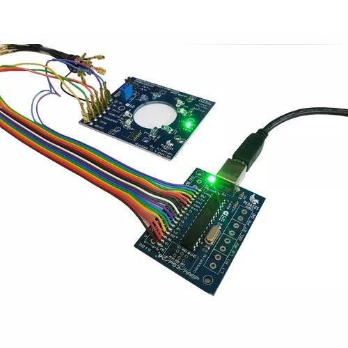 Placa sensor óptico + zerodelay cabos, pc,ps3,ps4 legacy